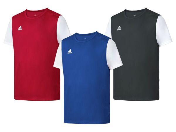 adidas Trainings T-Shirt Herren, zweifarbig, schnelltrocknend