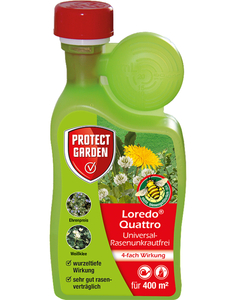 Loredo Quattro Universal-Rasenunkrautfrei Protect Garden