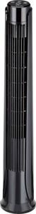 TrendLine Towerventilator mit Fernbedienung ,  schwarz, 82 cm hoch, 3 Stufen , Timer, oszillierend