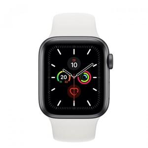 Apple Watch Series 5 GPS weiß ,  40 mm, silber/weiß