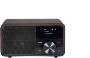 DAB+ 1 mini DAB Radioempfänger holz dunkel