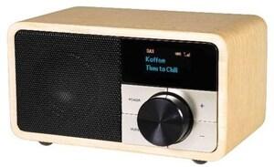 DAB+ 1 mini DAB Radioempfänger holz hell