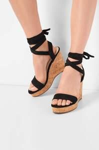 Sandalette mit Keilabsatz