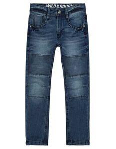 Jungen Jeans mit Rippeneffekten
