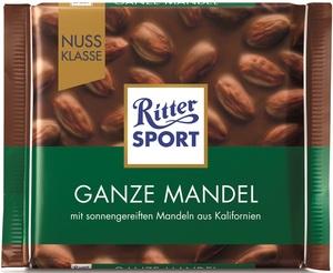 Ritter Sport Ganze Mandeln 100 g