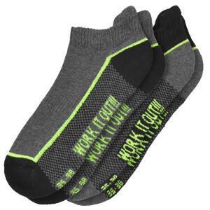 2 Paar Damen Sportsneaker-Socken im Set