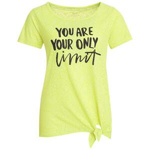 Damen Sport-T-Shirt in Ausbrenner-Optik
