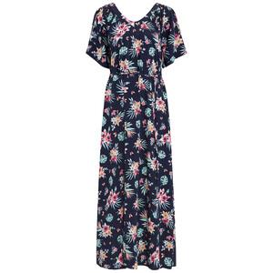 Damen Maxi-Kleid mit floralem Muster