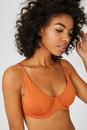 Bild 1 von C&A Bikini-Top-wattiert-Glanz-Effekt, Orange, Größe: 75 B