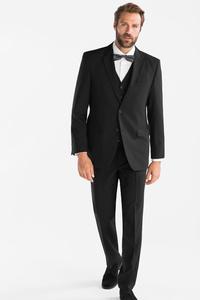C&A Anzug-Regular Fit-4 teilig, Schwarz, Größe: 28 1/2