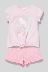Hello Kitty - Shorty-Pyjama - Bio-Baumwolle - Glanz-Effekt