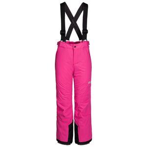Jack Wolfskin Wasserdichte Winterhose Kinder Powder Mountain Pants Kids 164 violett pink fuchsia