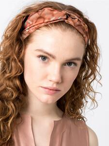 Haarband mit Batikdruck