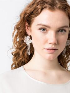 Ohrhänger mit 3D-Blüte