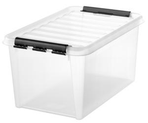 Smartstore Aufbewahrungsbox Classic 45 STAND.-VAR. 60X40X31cm Transparent