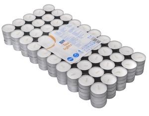 aro Teelichter,15 x Ø 37 mm, weiß, ca. 4 Std., 200 Stück