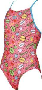 Kinder Badeanzug FANTASY pink Gr. 152 Mädchen Kinder