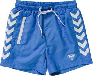 Boardshorts  blau/weiß Gr. 140 Jungen Kinder