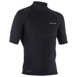 UV-Shirt Surf-Top für Komfort beim Paddeln Herren schwarz