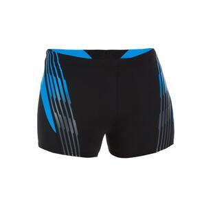 Boxer-Badehose Oxid Herren schwarz/blau