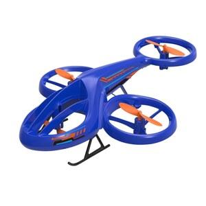 RC Heli Drohne blau