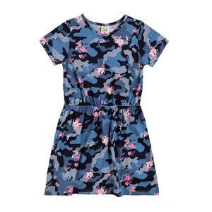 COOL CLUB Kinder Kleid Kurzer Arm für Mädchen 122