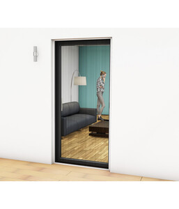 Hecht Alu-Plissee-Tür Professional, 125 x 220 cm