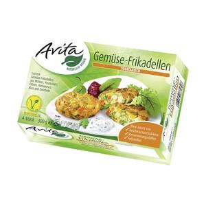 Avita Gemüse-Schnitzel oder - Frikadellen gefroren, jede 300-g-Packung und weitere Sorten
