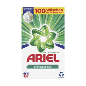 Ariel Waschmittel Pulver/Flüssig 100 Waschladungen oder Ariel  Allin Pods 70 Waschladungen, versch. Sorten, jede Packung