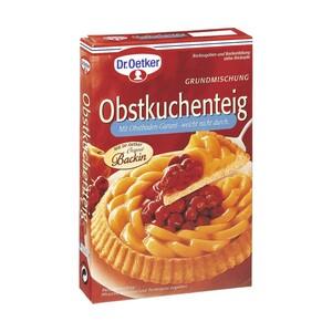 Dr. Oetker Grundteigbackmischungen für Obstkuchen jede 258-g-Packung