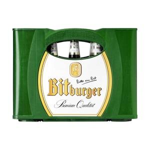 Bitburger Pils, Alkoholfrei, Premium Kellerbier oder Radler 0,0 % 24 x 0,33/20 x 0,5 Liter, jeder Kasten