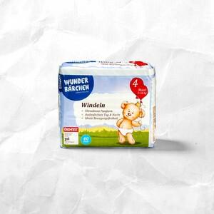 Wunderbärchen Windeln, Größen Midi bis XL Plus, jede Packung