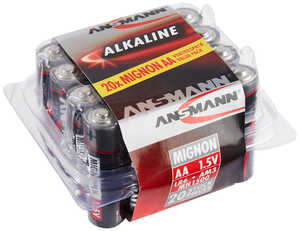 ANSMANN  Alkaline-Batterien AA