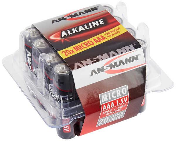 ANSMANN  Alkaline-Batterien AAA