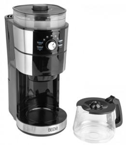BEEM Kaffeemaschine mit Mahlwerk Fresh-Aroma-Perfect III Glas 02688