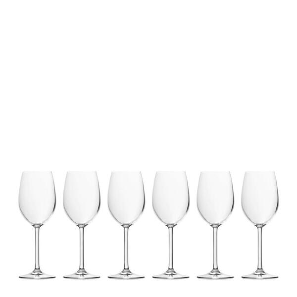 Leonardo Weißweinglas-set 6-teilig  , 063315 , Klar , Glas , 370 ml , 0.37 cm , 003813080602