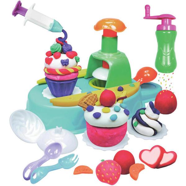 Simba Knetset cupcake , Cupcake A&f , Multicolor , Kunststoff , nicht zum Verzehr geeignet , 004130000504