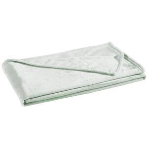 Boxxx Wohndecke 140/190 cm mintgrün  , Luna , Textil , Uni , 140x190 cm , Flanell , 008982015206