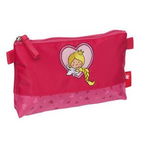Sigikid Kinderkulturtasche , 24916 , Altrosa, Pink , Textil , 20x12x2 cm , 006933006803