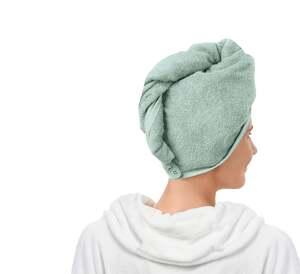 IDEENWELT Kopfhandtuch, uni