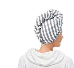 IDEENWELT Kopfhandtuch, gestreift