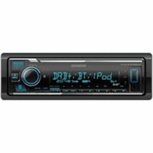Digitales Radio KMM-BT505DAB mit DAB+, Bluetooth, Audio-Streaming und iPhone/iPod-Steuerung von Kenwood