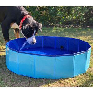 Hundepool 80x20cm Blau