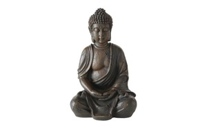 Boltze - Buddha aus Kunstharz, 30 cm