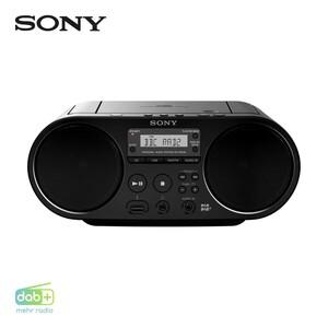DAB+-Radio ZS-PS55 • CD-Player, MP3 • Audio-In, USB-Anschluss • Netz- oder Batteriebetrieb