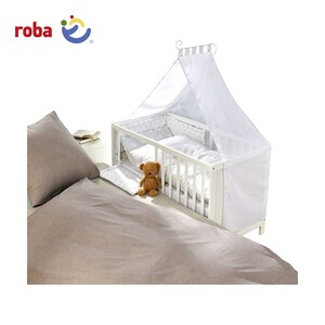 Kinder-Multifunktions-Bett umbaubar als Beistellbett zum Elternbett, 6- fach höhenverstellbar,  Maße: ca. 60 x 120 cm
