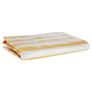 """Balkonblende """"Ibiza"""" gelb-weiß 500 x 90 cm"""