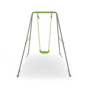 Metallschaukel grün 140 x 180 x 140 cm