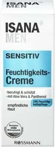 ISANA MEN Sensitiv Feuchtigkeitscreme