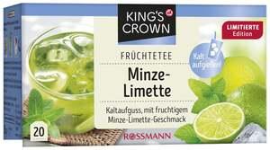 King's Crown Früchtetee Minze-Limette